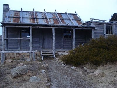 """Craig's Hut is more famously known as the house used in the classic Australian movie, """"The Man from Snowy River"""". Fame aside, this is a great little hut and so positioned that there are 270 degree views around the surrounding Victorian mountains."""