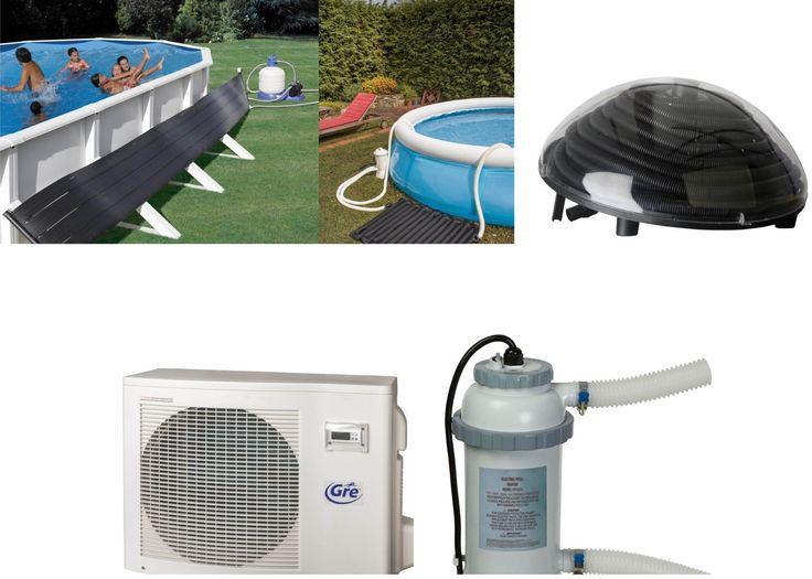 Bom dia e bem-vindos mais uma semana. Hoje vamos falar dos aquecedores para piscinas. No mercado existe uma grande variedade de modelos, solares assim como elétricos. A escolha dependerá muito da capacidade de litros da nossa piscina.  Uma forma útil de prolongar os meses de verão aumentando uns graus a temperatura da água.