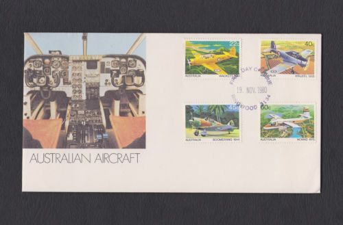 Australian Aircraft First Day Cover 19th November 1980 Ringwood 3134