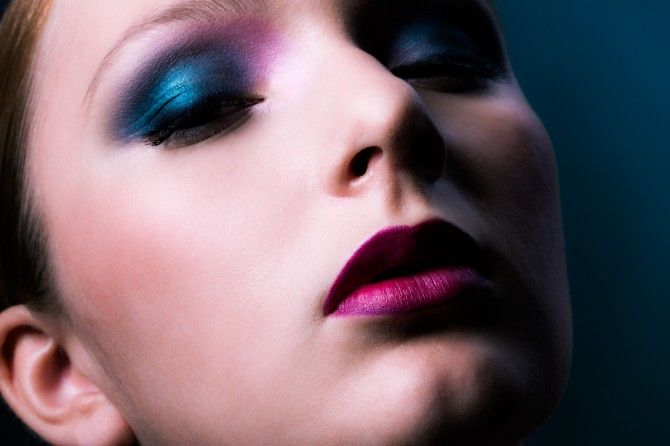 Fall 2012 by Jolie: Fairytale Fall. (Model: Fanny/Brand. Makeup: Katja Kokko. Hair: Piia Hiltunen. Photo: Paavo Lehtonen.)
