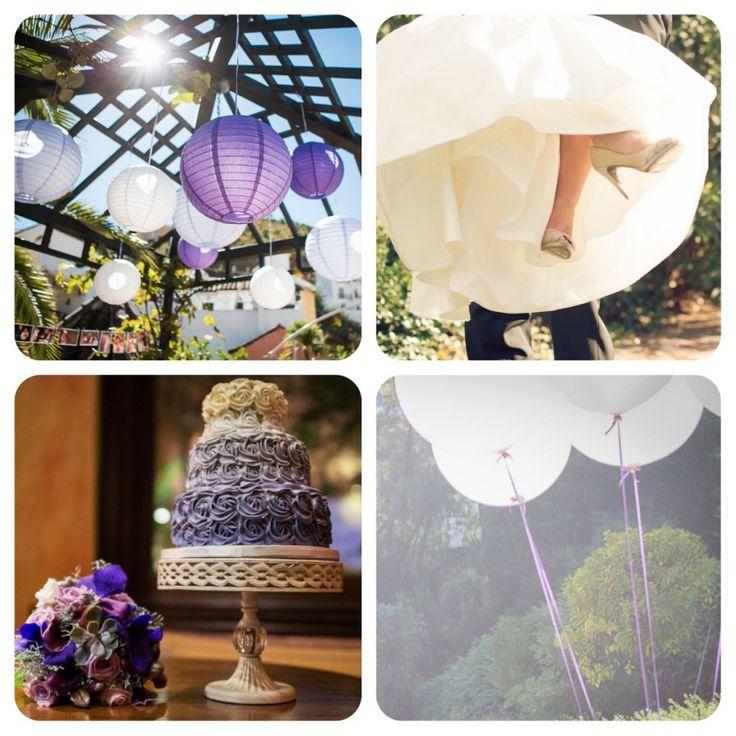 Shades of purple wedding by caprichia.com Weddings & Occasions {Photographies by Nani de Pérez}. Flowers by L&N Floral Design