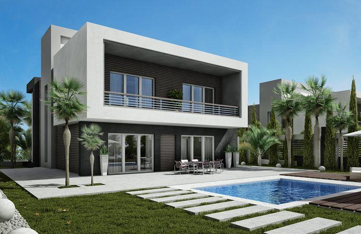 Wonderful villas 325 m2, constructed with refined materials in the elegant compound El Karma 4. El Karma 4 enjoys a prestigious location in Zayed City.