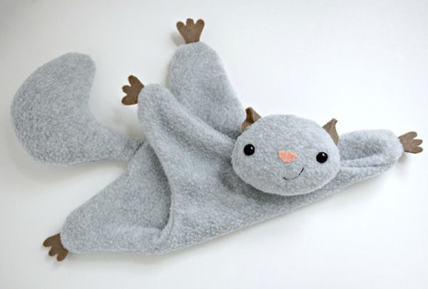 Flying Squirrel Sewing Pattern - http://pinterest.com/allsewingpins