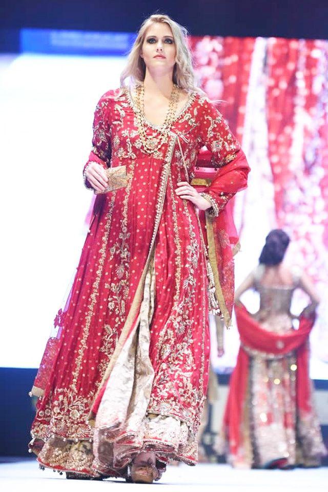 red-bridal-angrakha-with-lehenga-for-wedding
