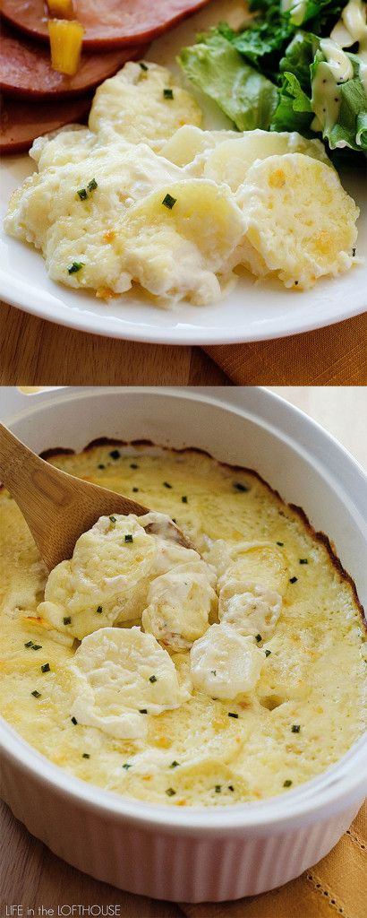 The BEST potatoes au gratin I've ever had!