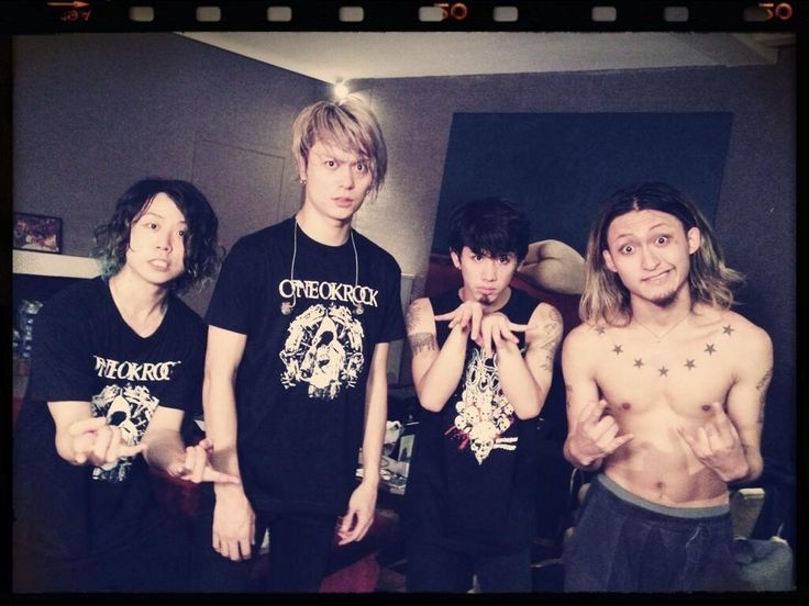 One ok Rock : 1st photo after the Trianon concert in Paris!  Crédits : Rui Hashimoto