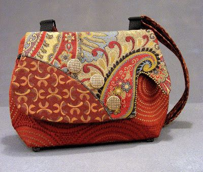I have two purses from Helen's Daughters Studio, but I want one like this, too!  Love the bags from this studio!