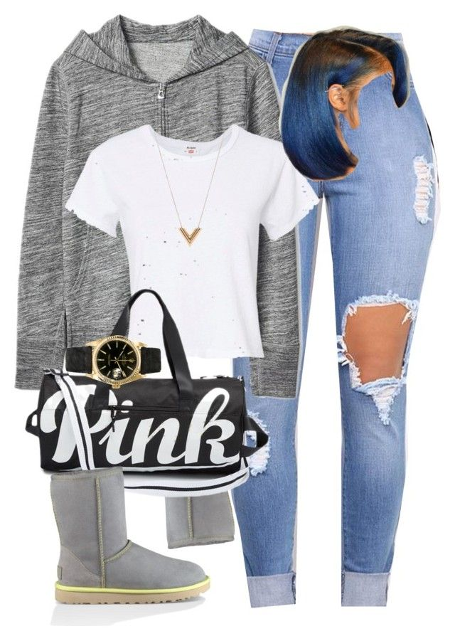 """""""18:11"""" by mcmlxxi ❤ liked on Polyvore featuring Gap, UGG, RE/DONE, Louis Vuitton and Rolex"""