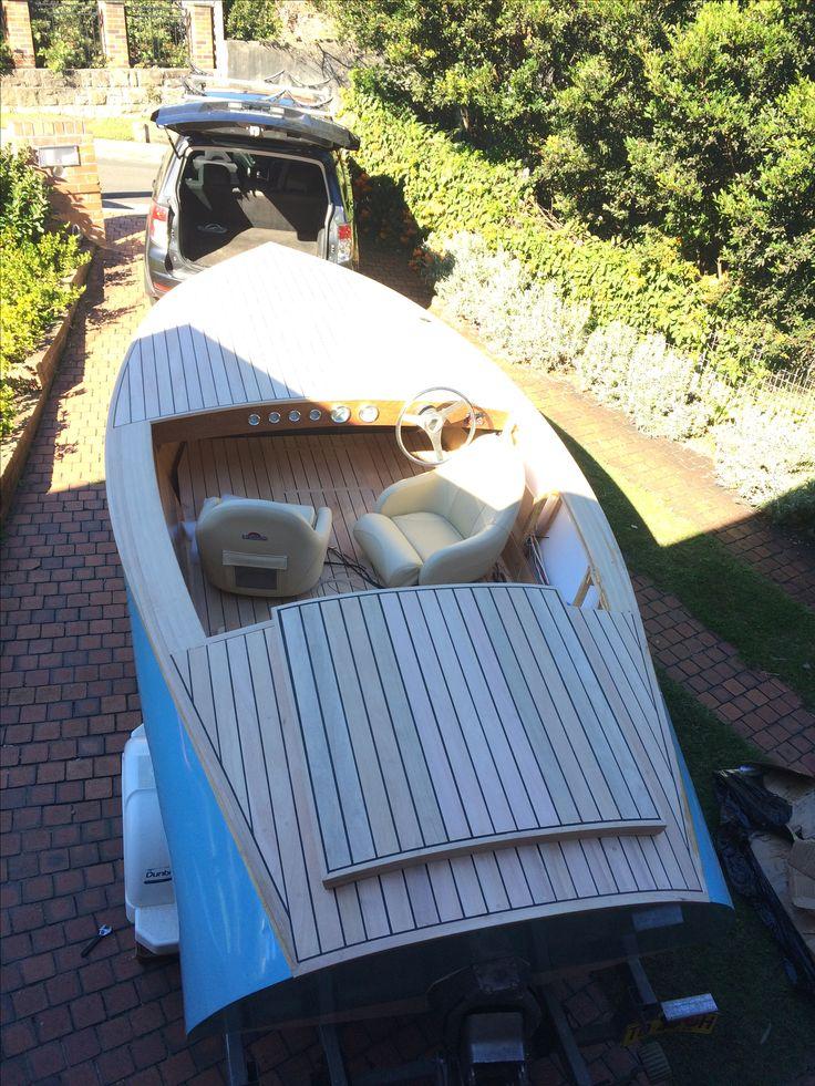 Donzi 16 Replica Wooden Boat Build