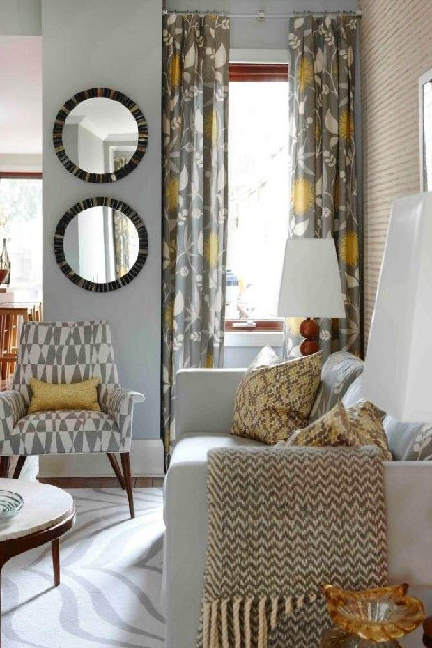 Elegant dining and living room designs by Sarah Richardson | see more inspiring articles at http://www.delightfull.eu/en/inspirations/
