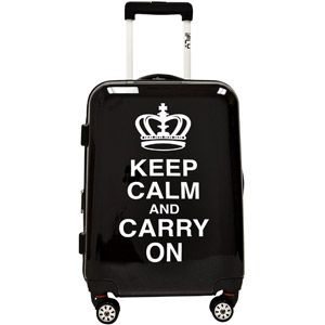 """iFly Keep Calm and Carry On 20"""" Hard-Sided Luggage"""