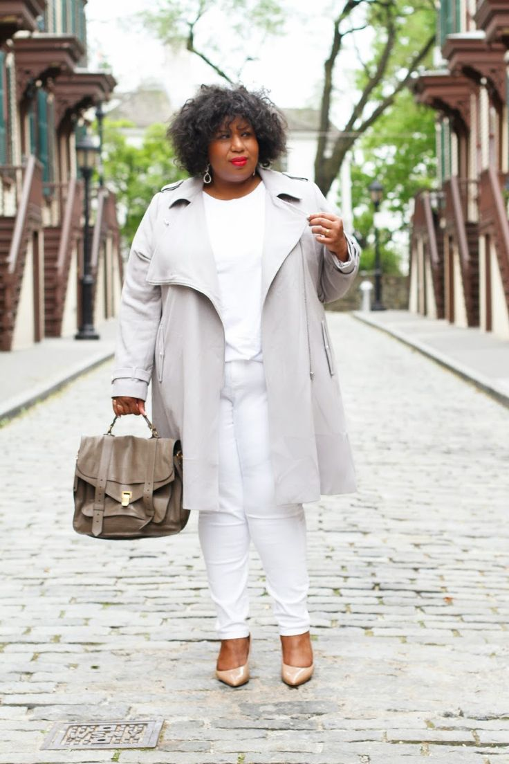 White Jeans For Curvy Women