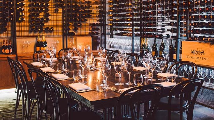 The Wine Room at The Grille, a beautiful space for birthdays and special nights with friends.