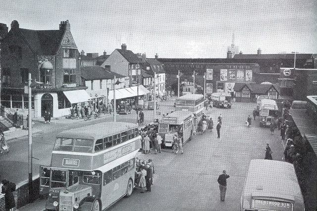 Chelmsford Bus Station 1951