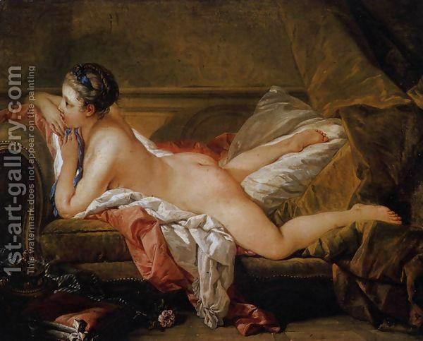 Blond Odalisque (L'Odalisque Blonde) 1752 by François Boucher