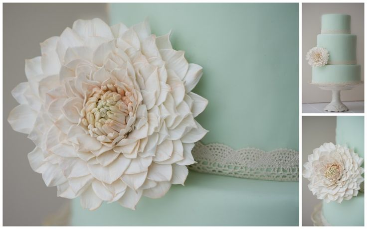 gumpaste dahlia instructions tutorial - Google Search-so excited to make this cake!!!