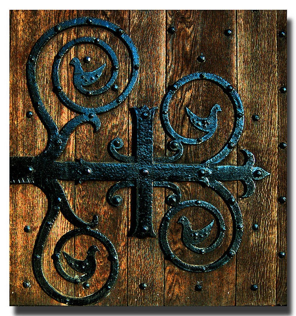 Old ornate hinge that can be found on the doors of Dunfermline Abbey.  sc 1 st  Pinterest & 777 best door doorknockers images on Pinterest | Black Chocolate ... pezcame.com