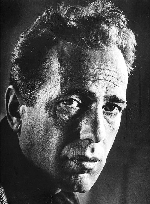 Humphrey Bogart photographed by Philippe Halsman, 1944.