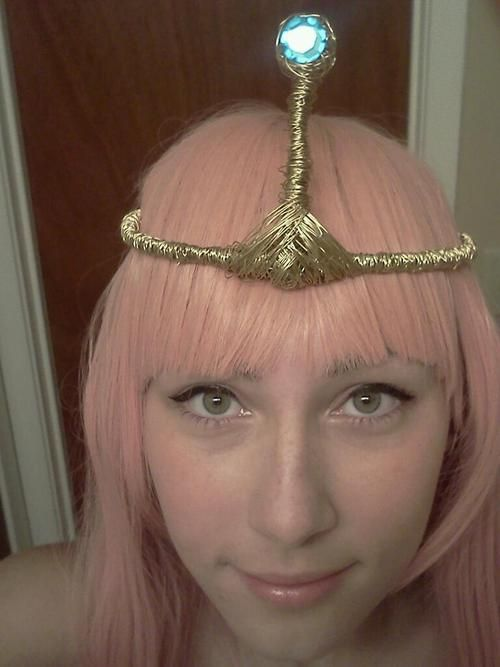 Bubblegum princess crown