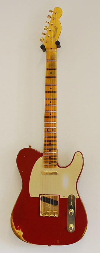 Fender CS Telecaster Heavy Relic Cimarron Red