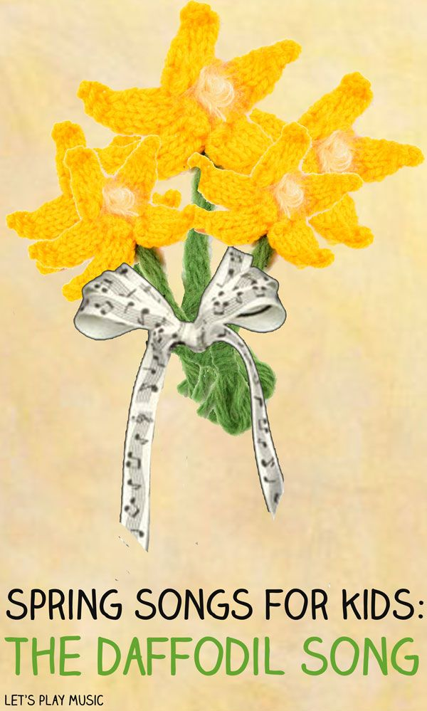 Let's Play Music: Spring Songs for Kids - All Around the Daffodils