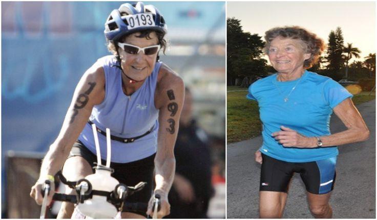 Esta monjita tiene 86 años y ha corrido 325 triatlones y 45 Ironman (y sigue haciéndolo)  La fiel prueba de que el único fracaso es no intentarlo.