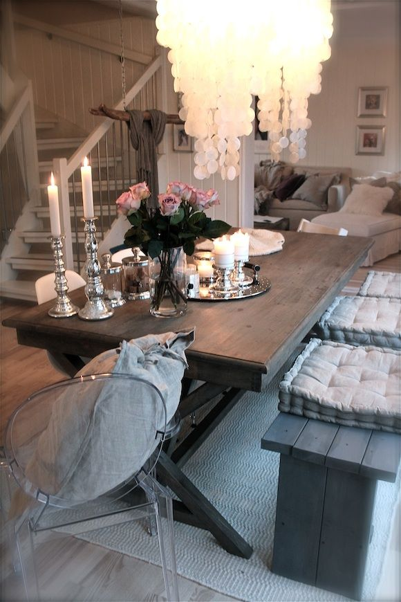 gray dining oh so lovely I want it