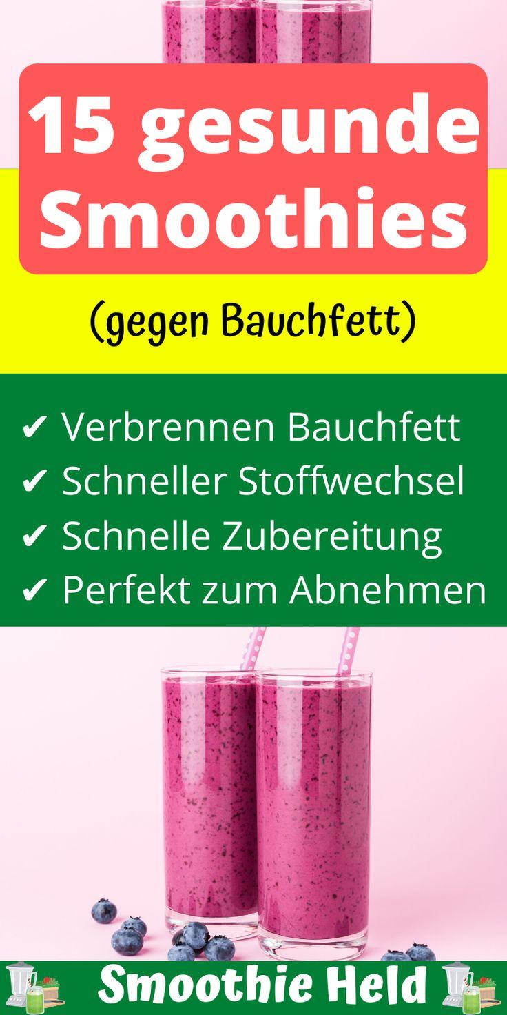 15 gesunde Smoothies zum Abnehmen - Gesunde smoothies..