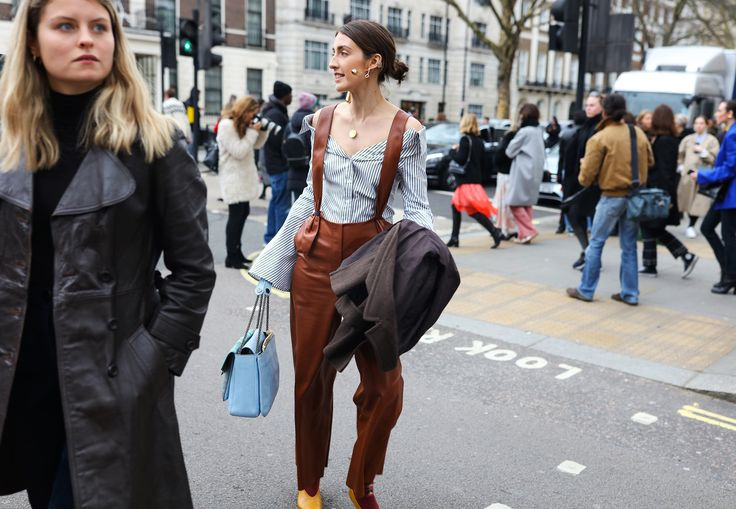 The 24 Best Street Style Beauty Looks From London Fashion Week Fall 2018