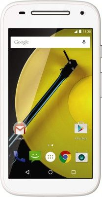 Moto E (2nd Gen) 4G      0.3 MP Secondary Camera     Wi-Fi Enabled     Android v5.0 (Lollipop) OS     Expandable Storage Capacity of 32 GB     Dual Sim (GSM + LTE)     5 MP Primary Camera     1.2 GHz Quad Core Processor     4.5 inch TFT LCD Touchscreen buy now @ 7499  http://dl.flipkart.com/dl/moto-e-2nd-gen-4g/p/itme85hfdv6zztcj?pid=MOBE4G6G2KHFYTND&srno=p_4&query=moto+e2&affid=chandansh1