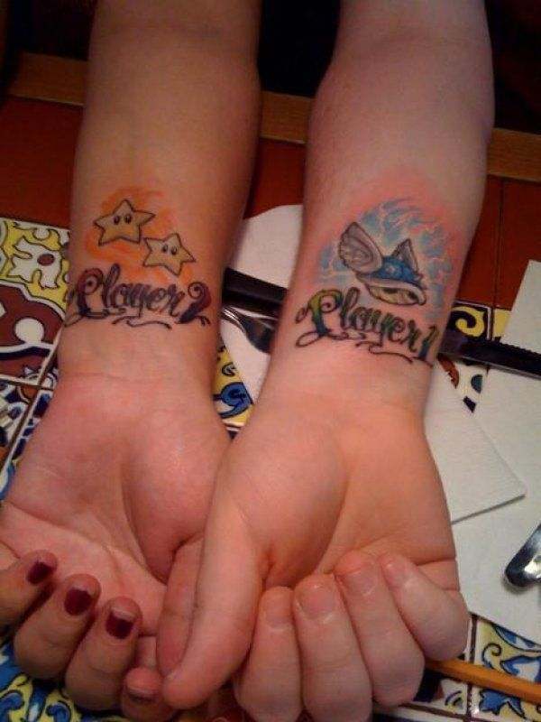 20 Awesome Matching Tattoos Only Geek Couples Would Get (Page 4) - CollegeHumor Post
