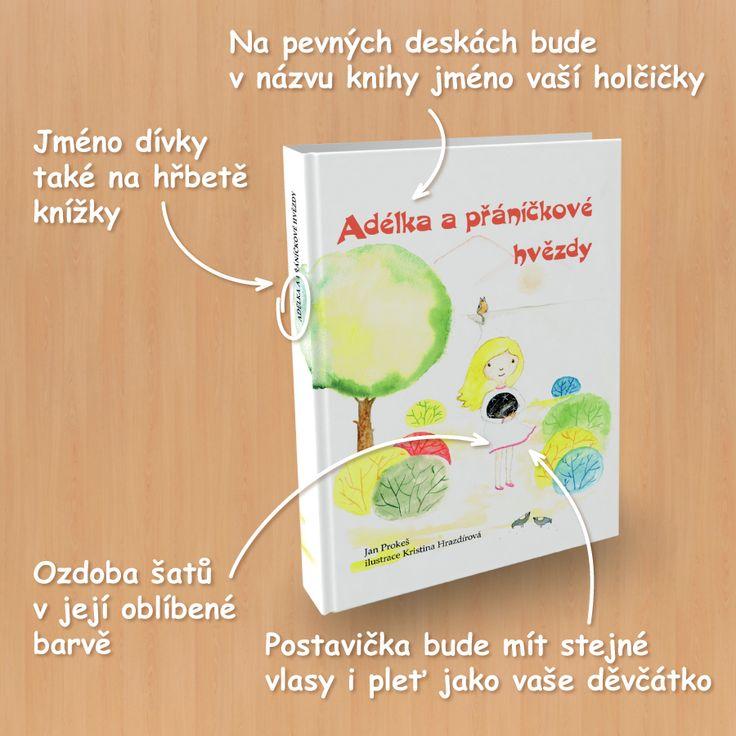 image 033-K-CZ-Adelka-900x900-01 Adélka, originální knihy, přáníčkové hvězdy, osobní knihy, krásné čtení, prvňáček, dětská kniha, hrdina, holky, dárek