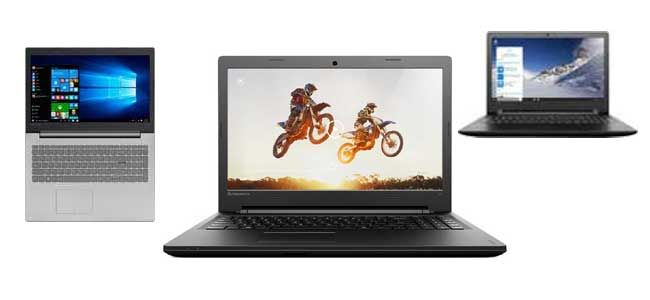 All Laptops in India including Dell, HP, Lenovo brands