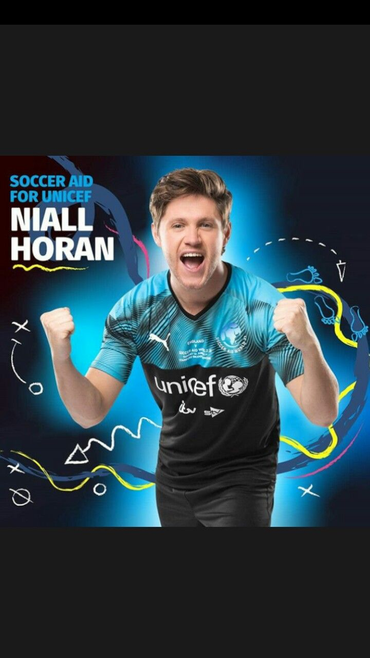 Niall For Soccer Aid James Horan Soccer Aid Irish Boys