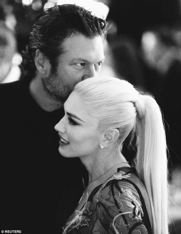 nowhollywood:    Gwen Stefani and Blake Shelton at the U.S. State Dinner | 18.10.2016