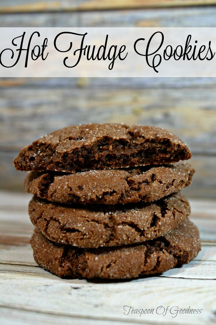 For all the chocolate lovers out there, these Hot Fudge Homemade Cookies are an amazing choice for a bedtime snack with a warm glass of milk.