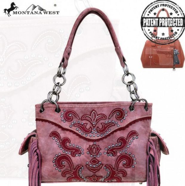 Montana West Concealed Handgun Collection Handbag.  Have you seen our new concealed carry purses?