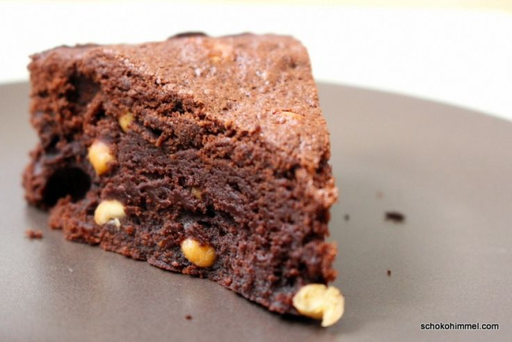 Leider geil: süß-salzige Erdnuss-Brownies - Schokohimmel