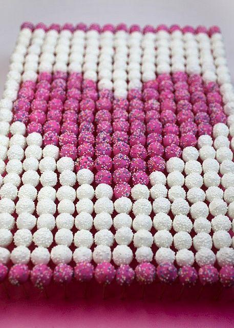 dessert area. cake pops design