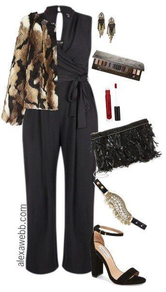 Plus Size Jumpsuit Outfit - Plus Size Fashion for Women - alexawebb.com