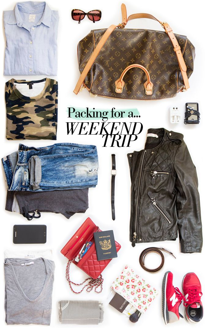 Swoon Mag – Fashion, Lifestyle & Beauty: Ever felt cumbersome lugging a suitcase on a weekend away? Here are a few suggestions which may help you take the pain out of packing