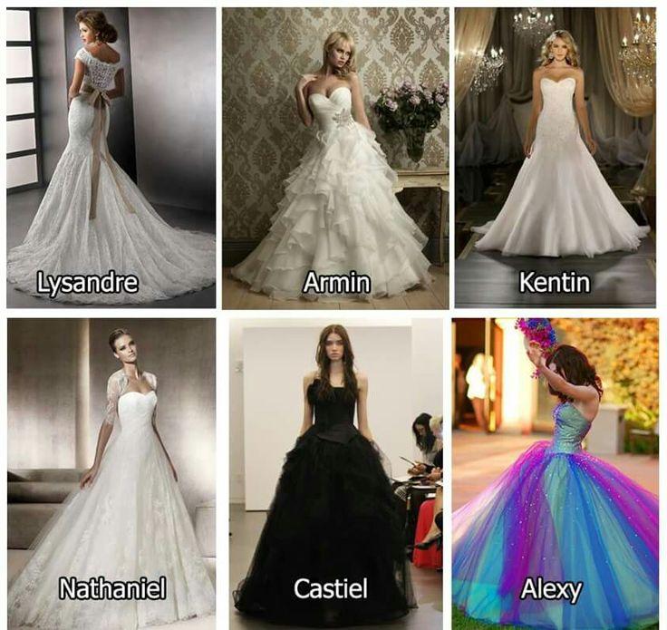 To vendo que eu vou ter que comprar uns cinco vestidos pro meu casamento
