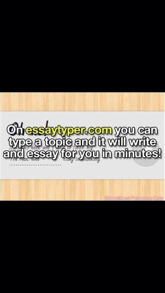 Middle School, High School, Or College Getting To Stressful? When Writing An Essay Is Just Too Much.