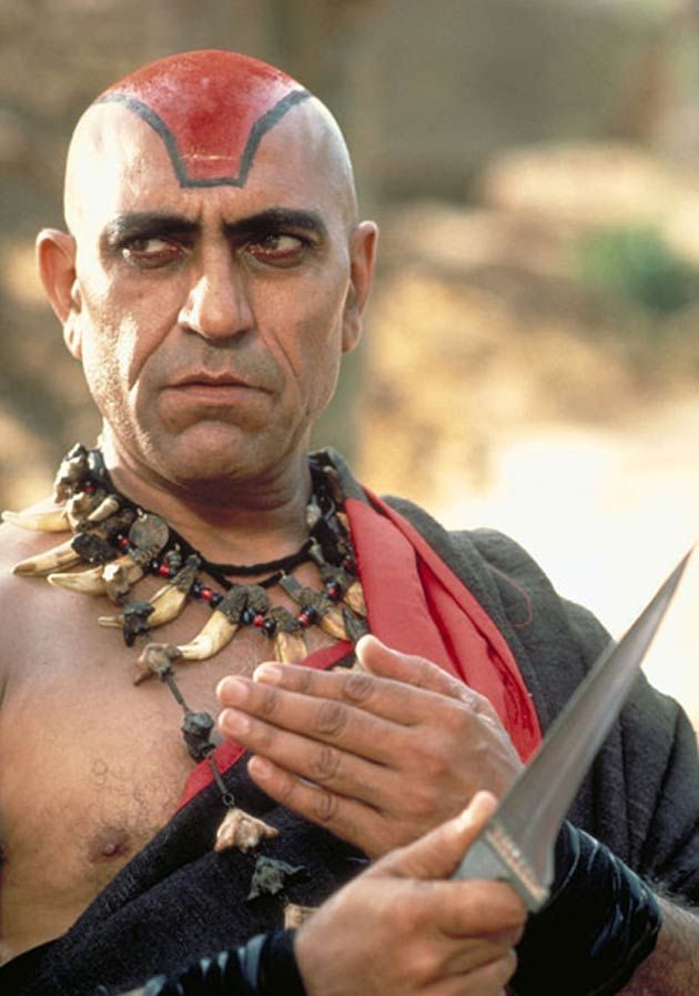 But my favourite villain has to be Bollywood actor Amrish Puri who also played the bad guy in steven Spielbergs iconic movie 'Indiana jones'