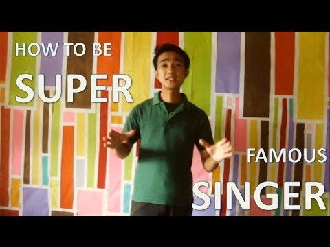 How to be Super Famous Singer | Celebrity Secrets Revealed .. Singing (Profession),Hollywood,Hollywood Stars (Sports Team),Famous,Entertainment,Singer,How to be Super Famous Singer,How to be Famous,How to become a Singer,How-to (Media Genre),Celebrity Secrets,Musicians,Musician (Occupation)