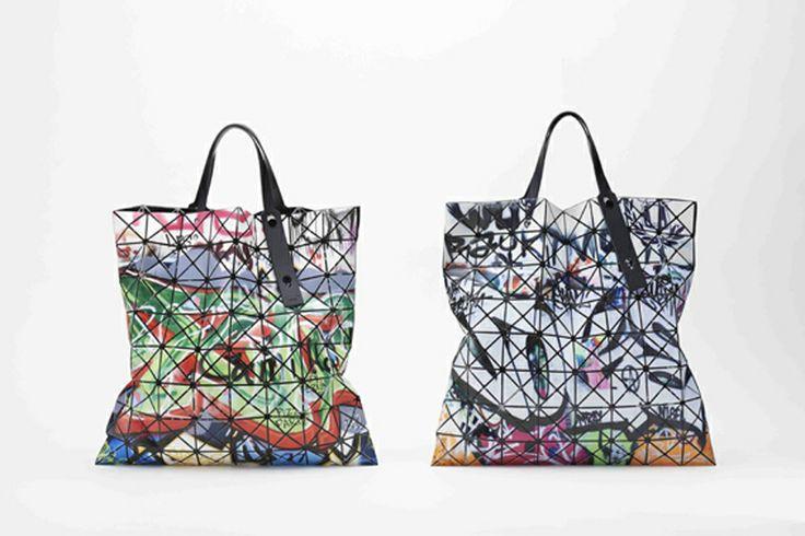 Lucent Pro Graffiti by Bao Bao Issey Miyake. #bag #lucentprograffiti #baobao #isseymiyake #fashion #style #look #women