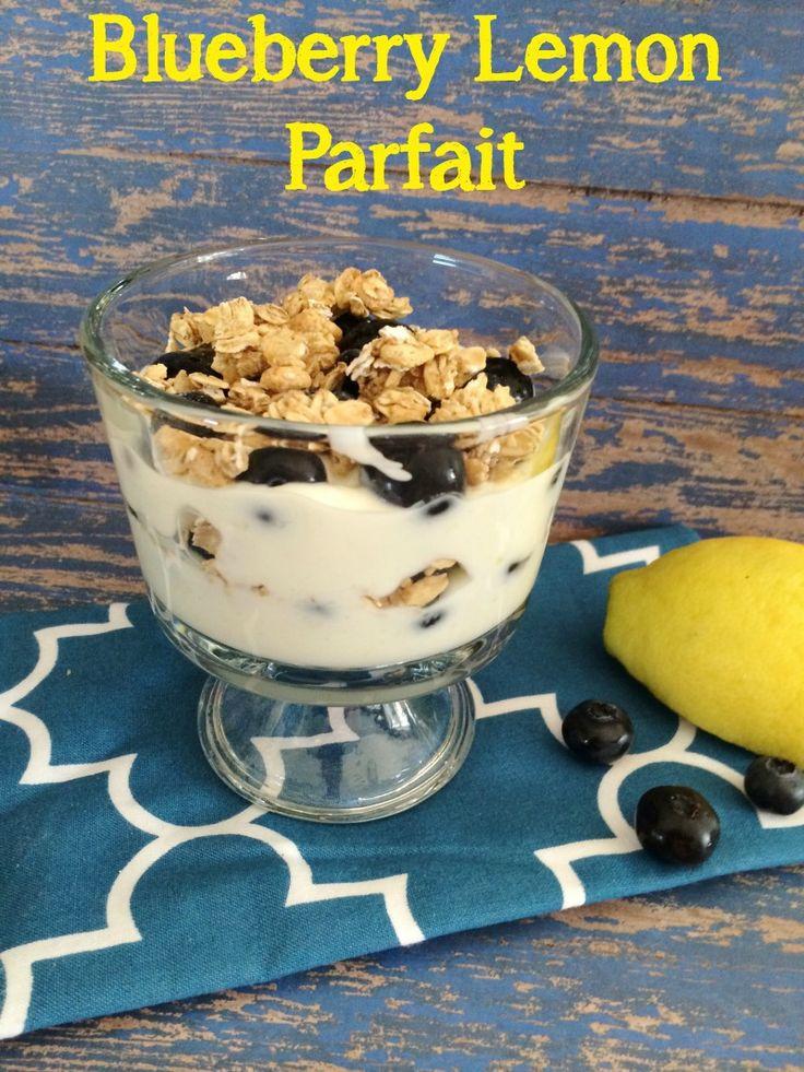 Blueberry Lemon Parfait | 5DollarDinners.com