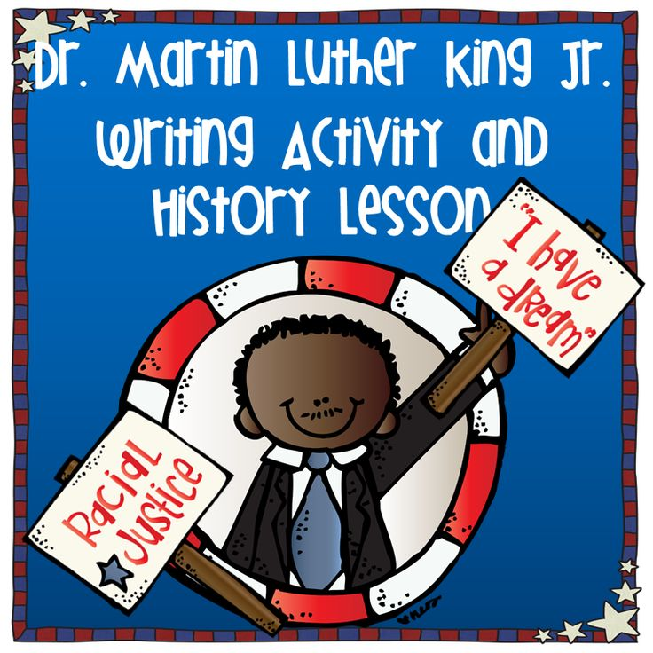 Martin Luther King writing and timeline activity! Your students will learn so much and love creating the timeline.