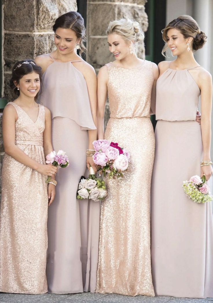 17 Best ideas about Dusty Pink Bridesmaid Dresses on Pinterest ...