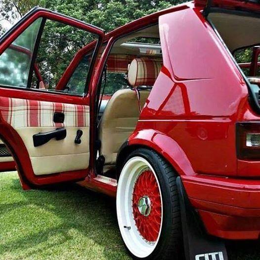 #VW #Golf #Pimped | Rides | Volkswagen golf mk1 ...